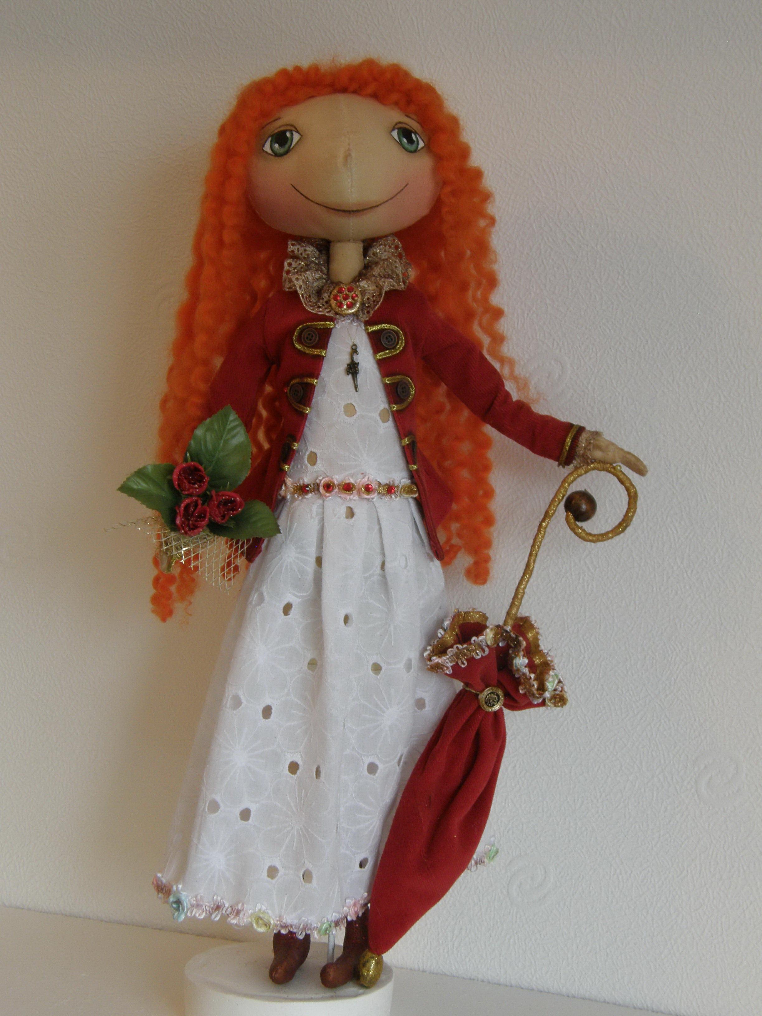 Кукла из трикотажа своими руками мастер